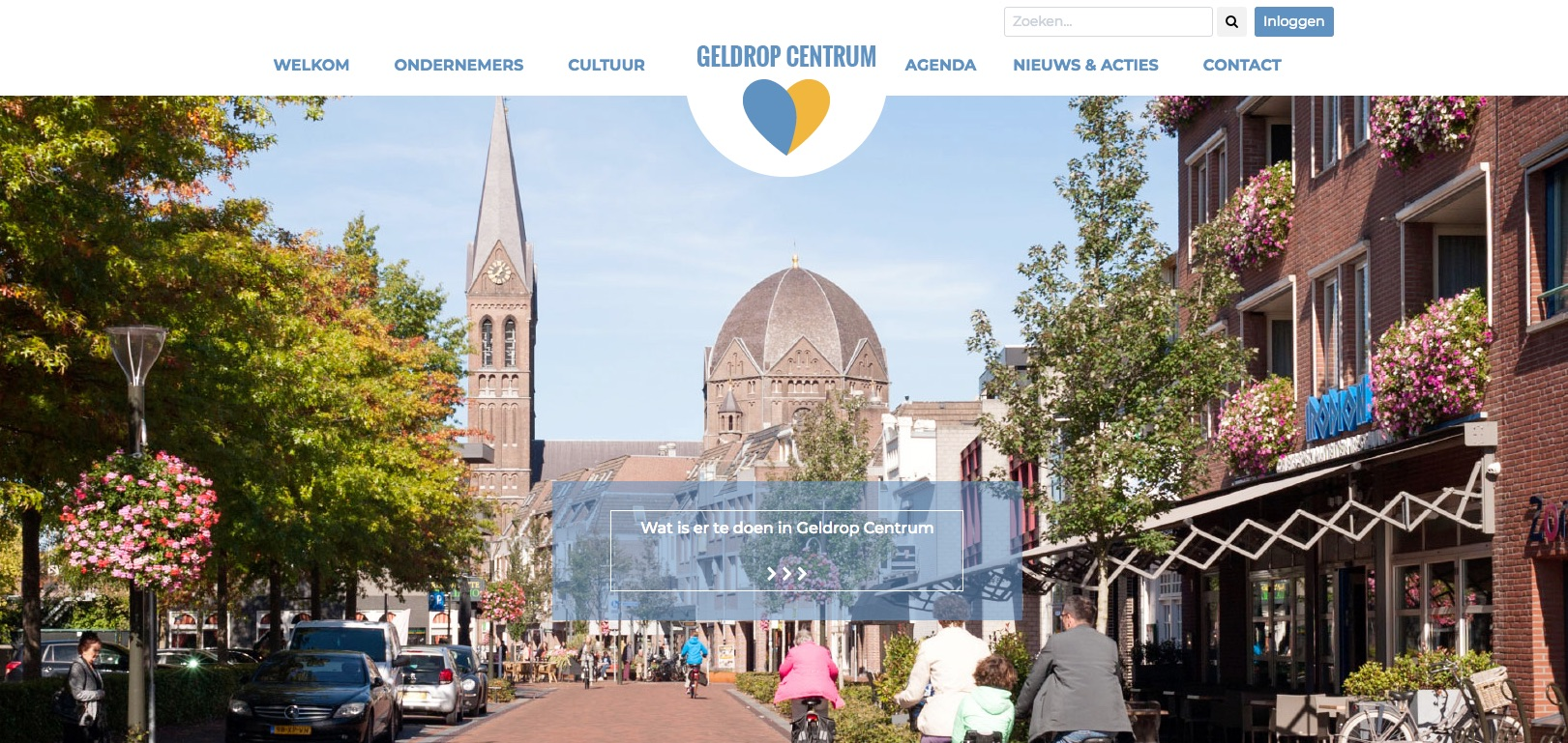 Nieuwe website Geldrop Centrum