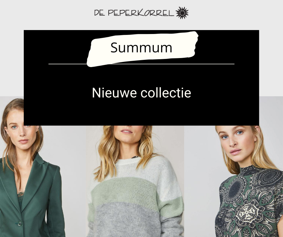 Nieuwe collectie Summum woman | De Peperkorrel